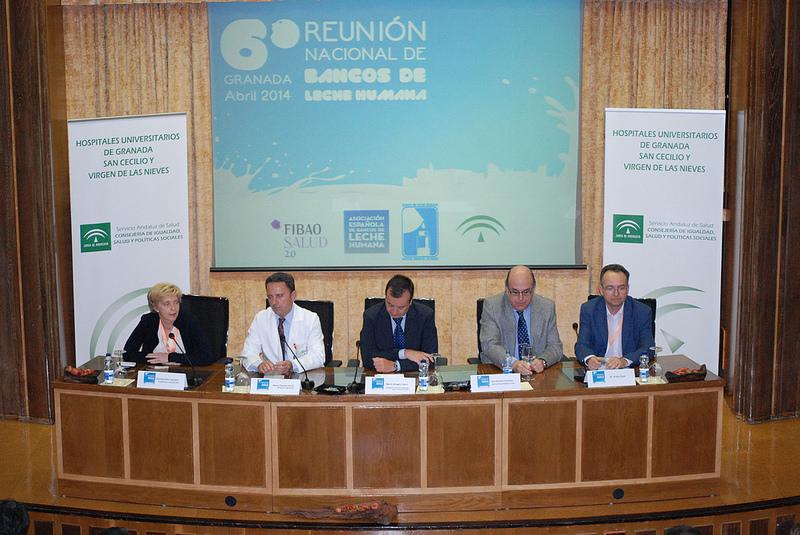 El Banco de Leche del HVN celebra la VI Reunión Nacional de Bancos de Leche Humana