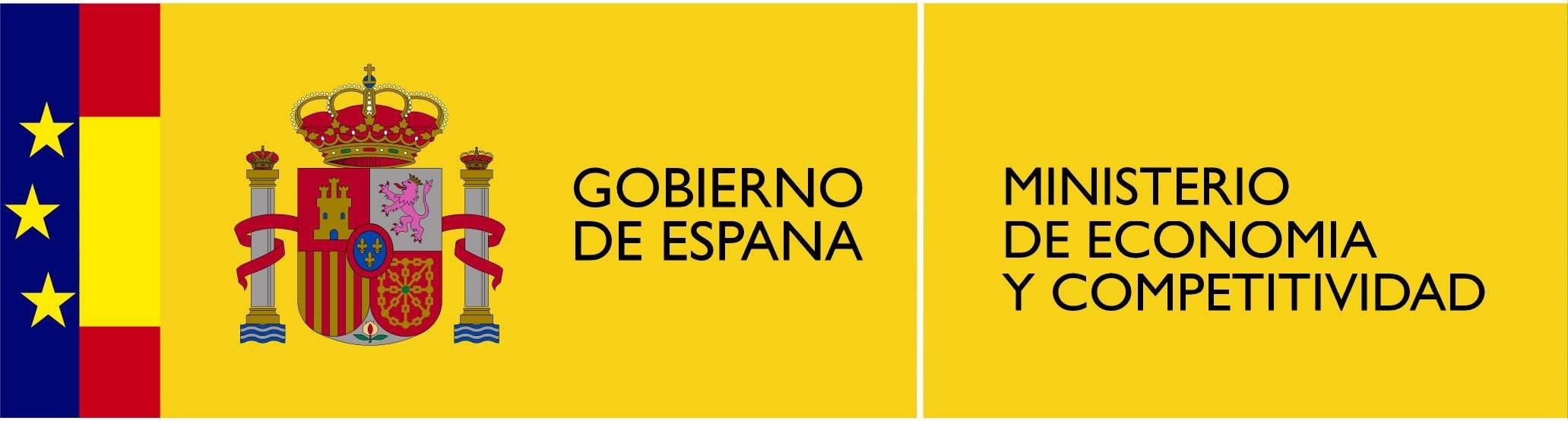 Logo gobierno de españa ministerio de economia y competitividad