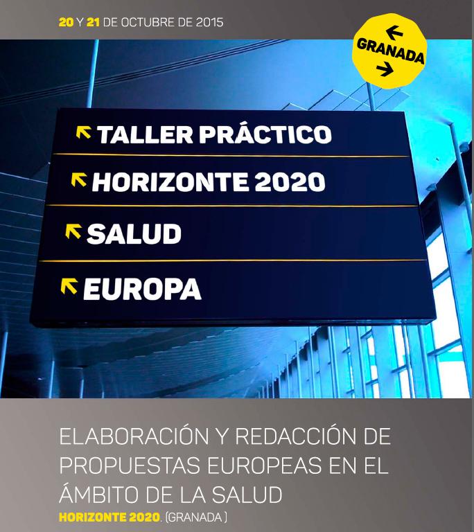 Taller de Elaboración y Redaccion de Propuestas Europeas en el Ámbito de la Salud