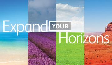 Expand you horizons
