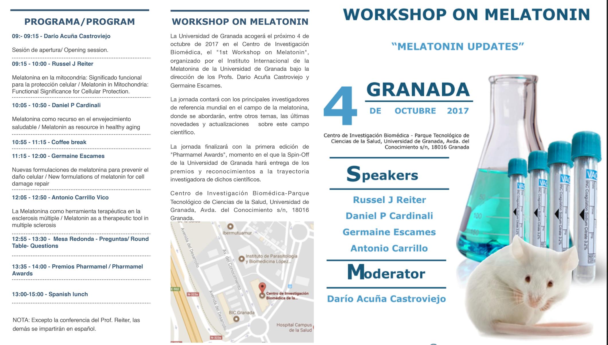 1st Workshop on Melatonin