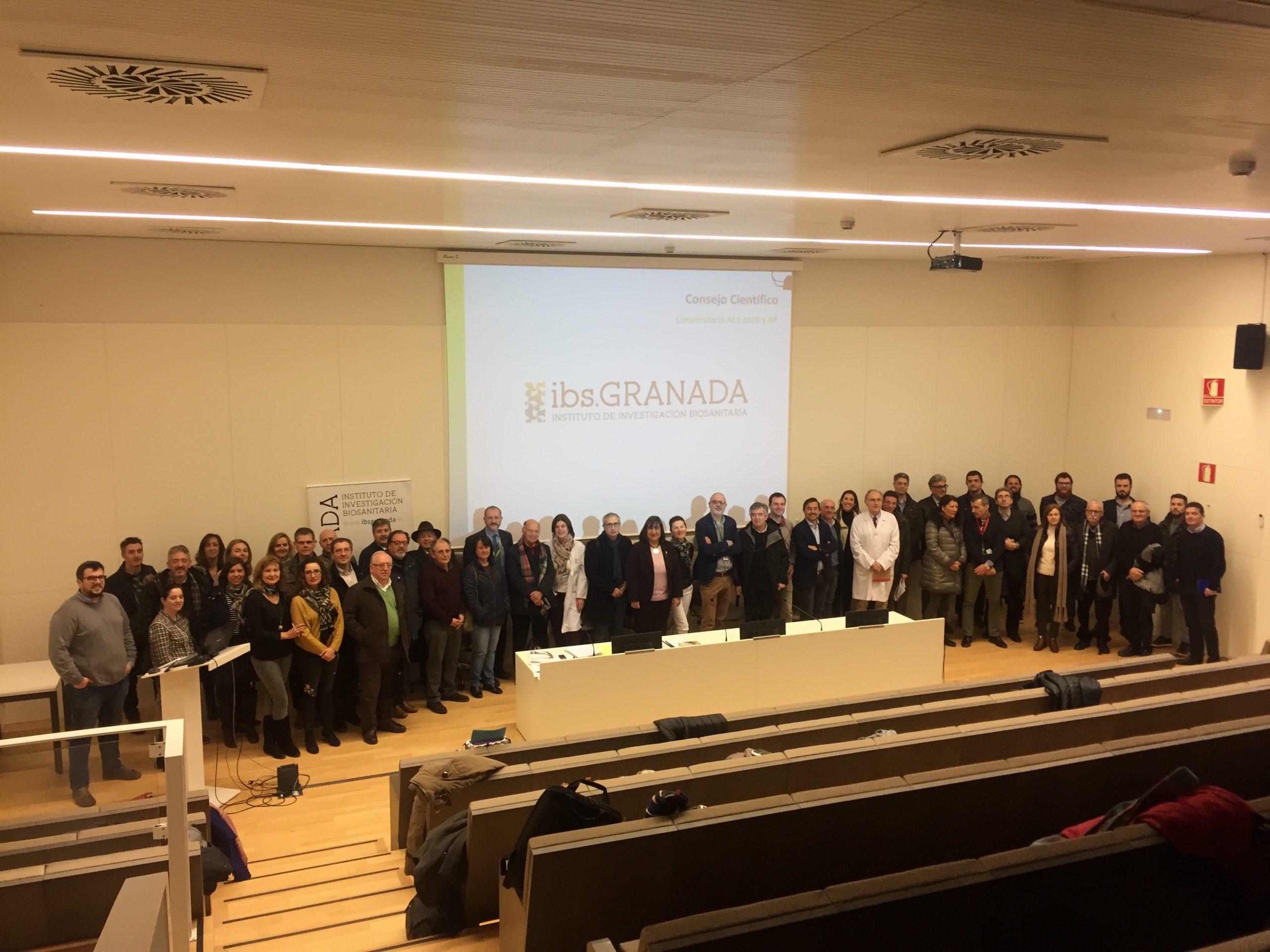 Reunión del Consejo Científico del ibs.GRANADA