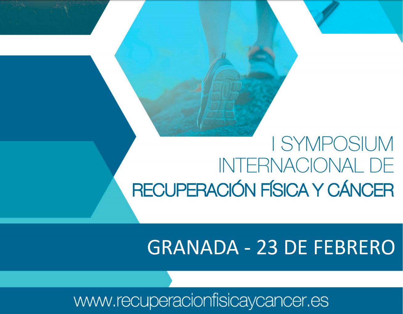 I Symposium Internacional de Recuperación Física y Cáncer