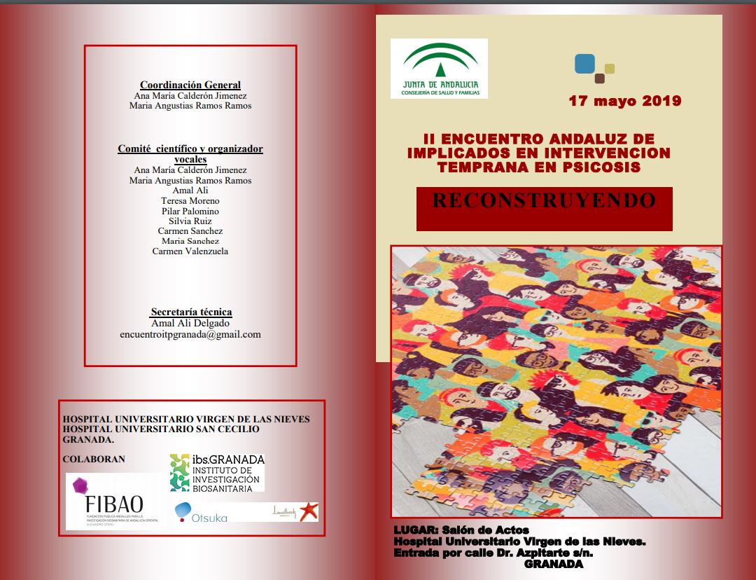 II Encuentro Andaluz de implicados en intervención temprana en psicosis