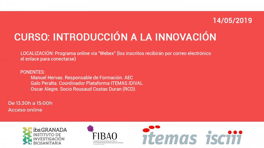 CURSO: Introducción a la Innovación