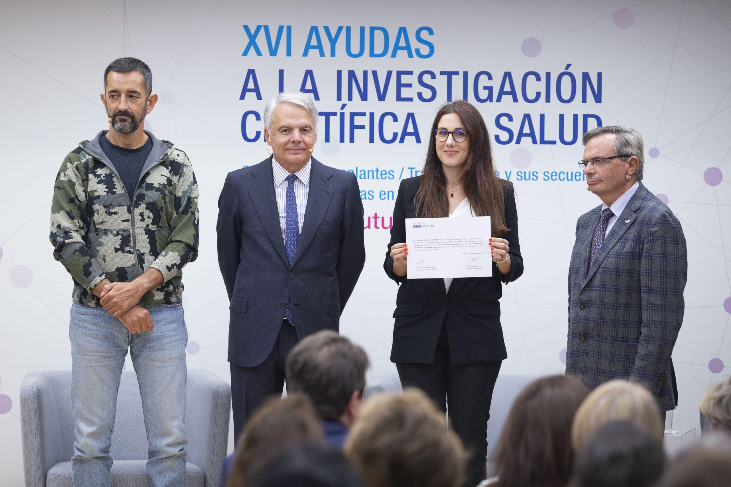 La Fundación Mutua Madrileña financia con 120.000 euros un proyecto de investigación del ibs.GRANADA para generar biotintas para bioimpresión 3D