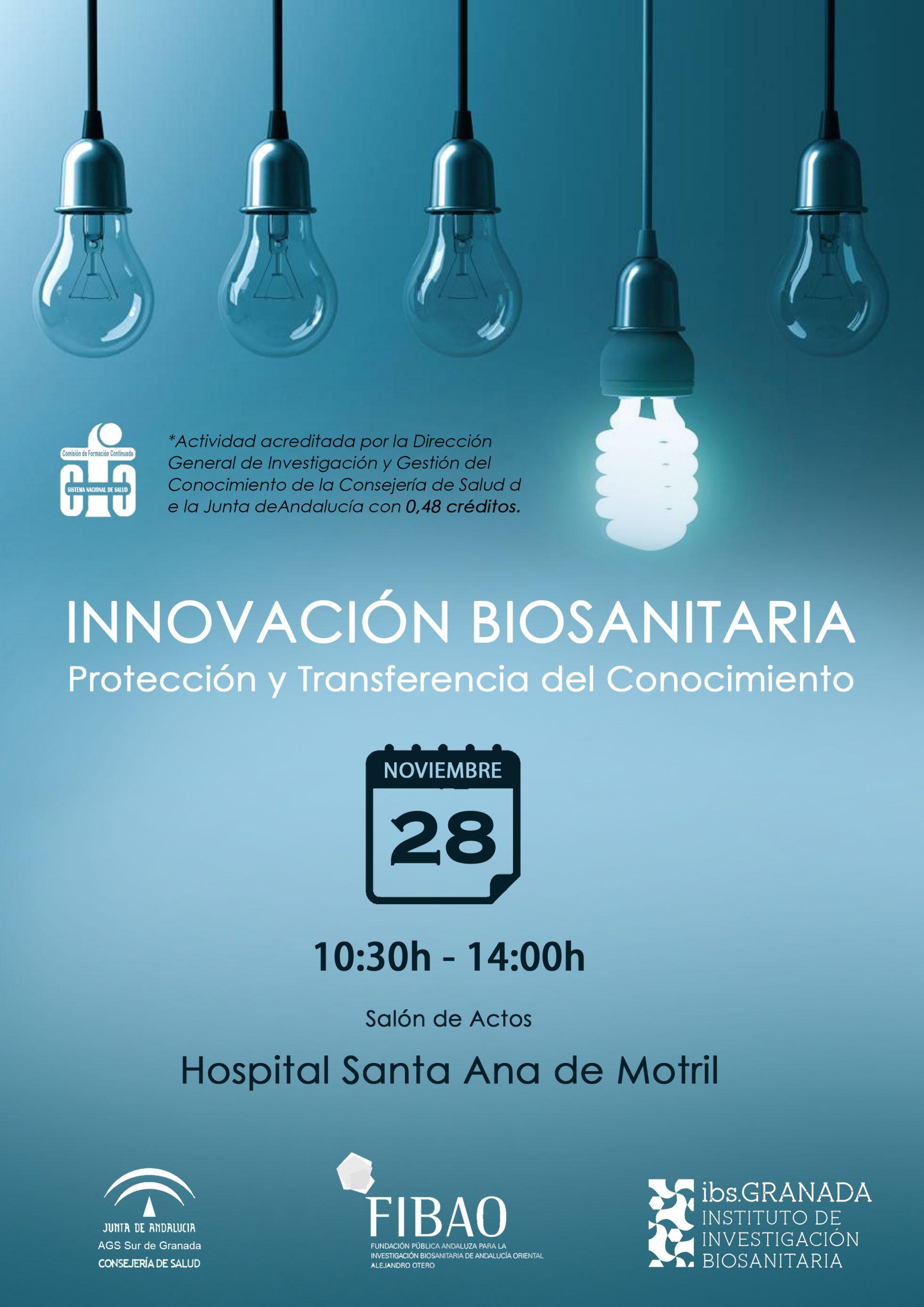 Curso De Innovación Biosanitaria: Protección Y Transferencia Del Conocimiento Motril
