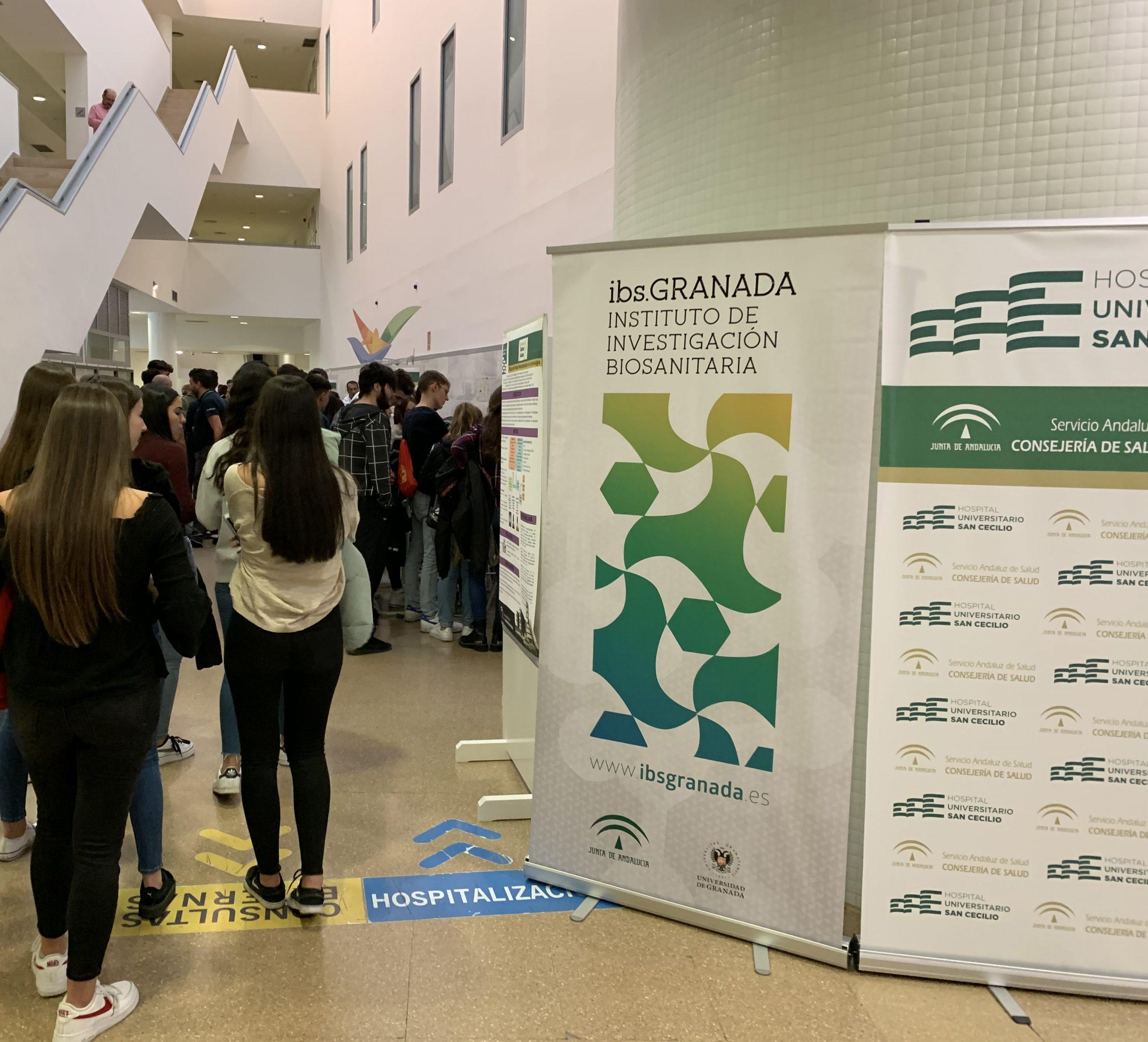 Actividades en el Hospital Universitario San Cecilio