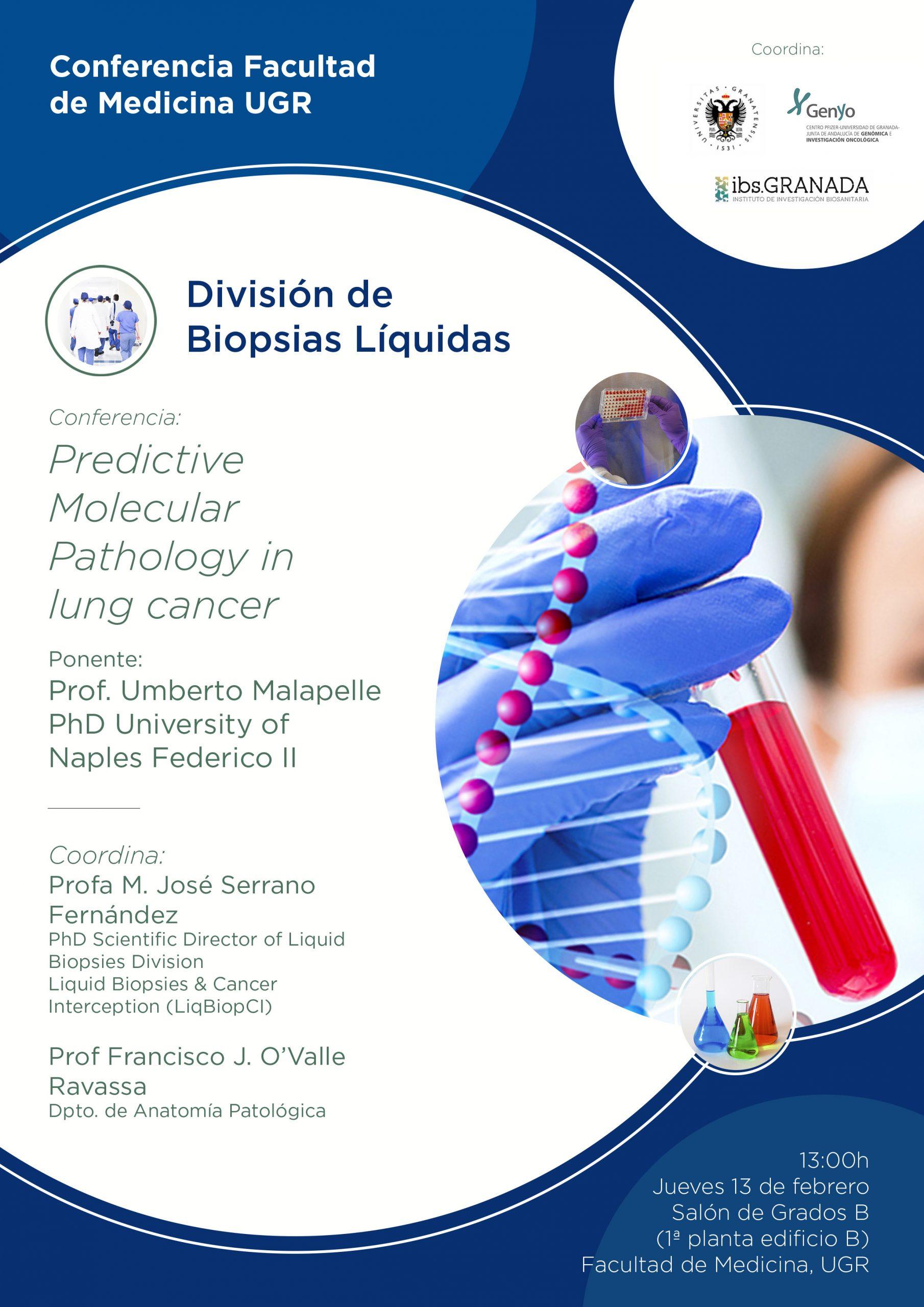 Conferencia Predictive Molecular Pathology in Lung Cancer