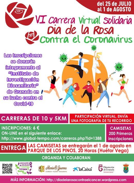 VI Carrera solidara Día de la Rosa contra el COVID-19