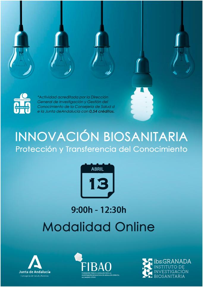 Cartel de Innovación biosanitaria