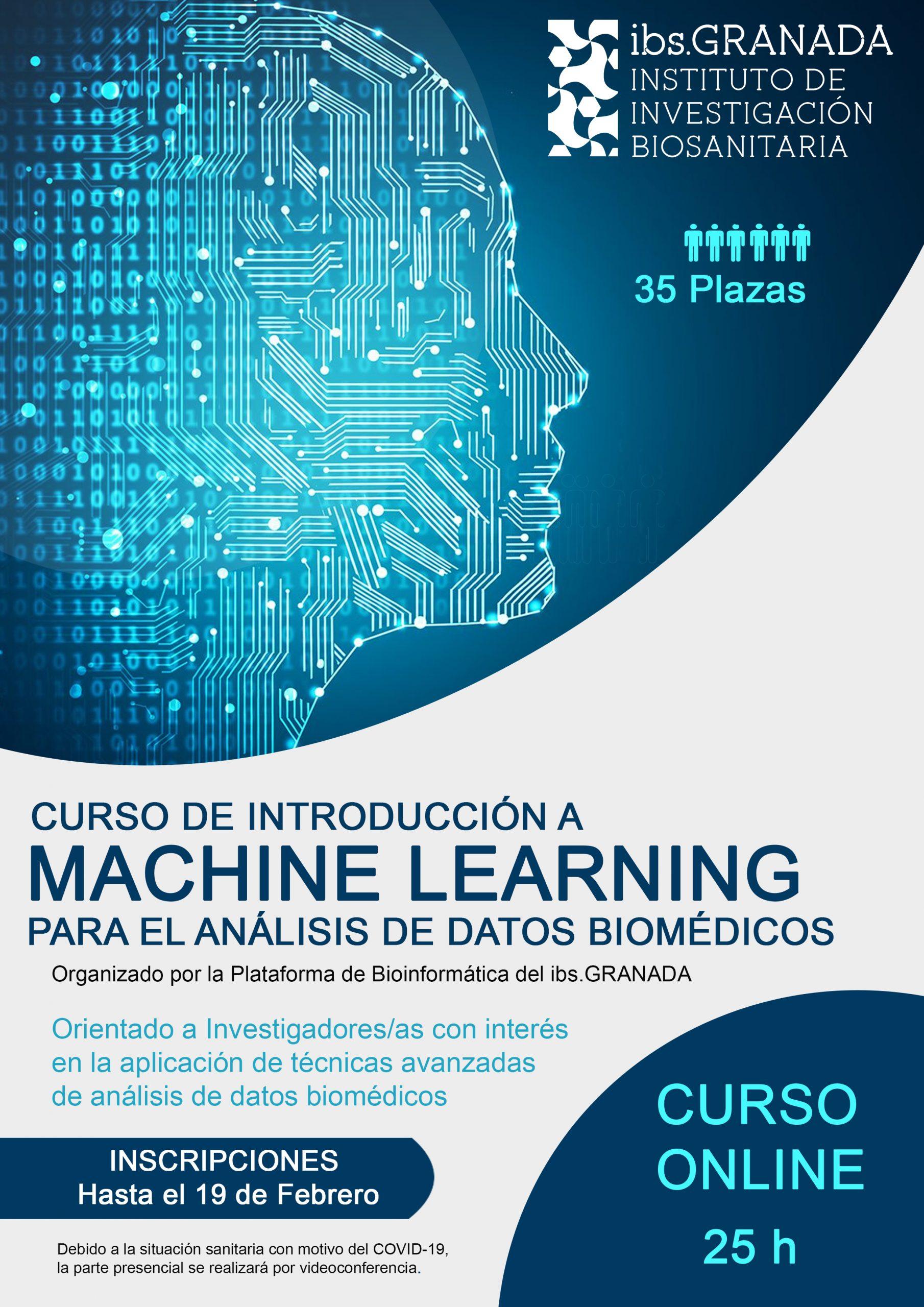 II Edición del Curso: Introducción a Machine Learning para el análisis de datos biomédicos