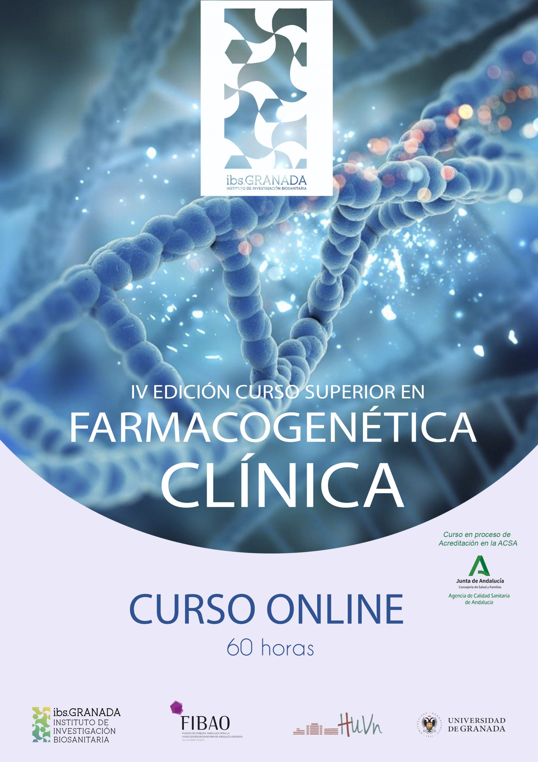IV EDICIÓN Curso Superior en Farmacogenética Clínica