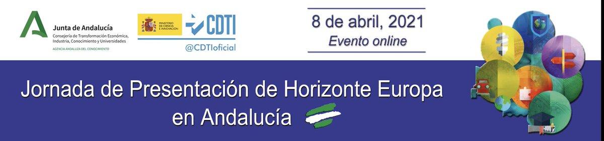 Jornada de presentación de Horizonte Europa en Andalucía