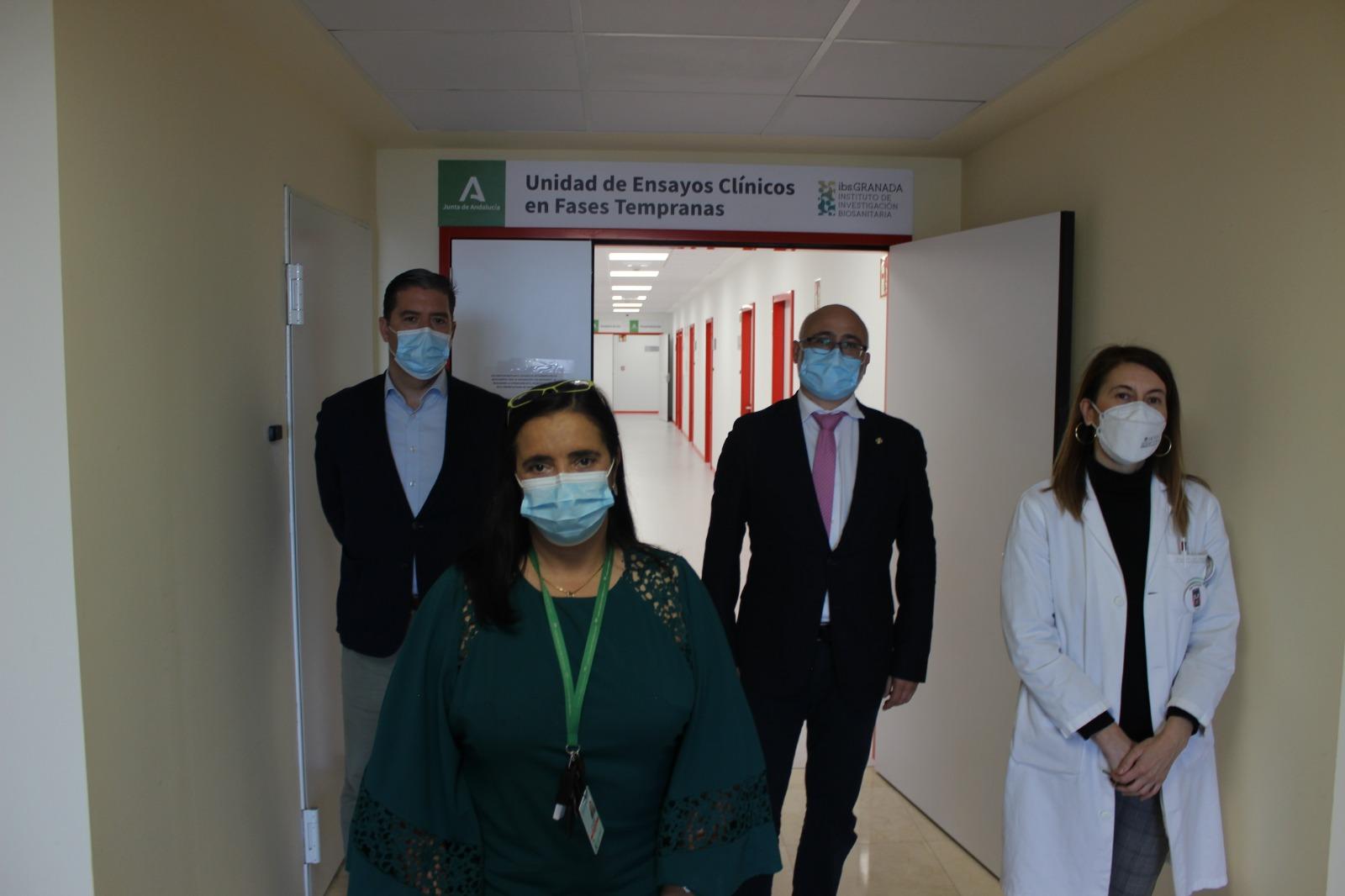 El Hospital Virgen de las Nieves estrena una unidad de ensayos clínicos que forma parte del ibs.GRANADA